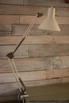 bureaulamp vintage wit desk lamp white vintage